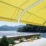 Up - Cycle Garden Shade With Awning Fabric
