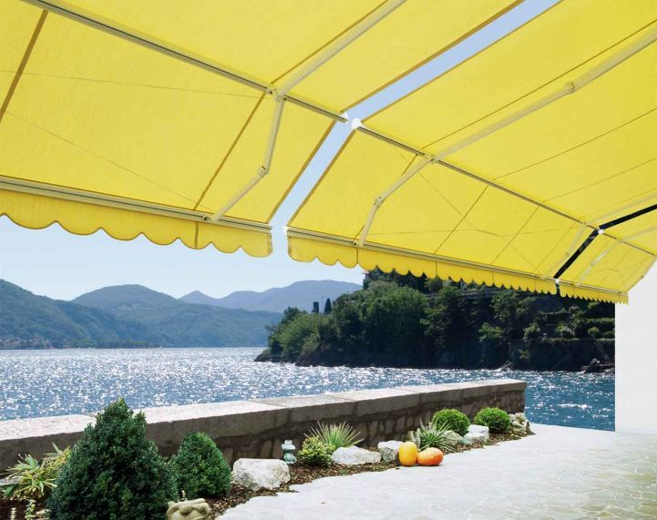 Up – Cycle Garden Shade With Awning Fabric