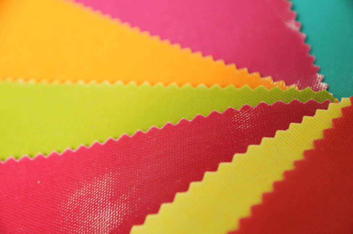 PVC Coated Panama, The Party Fabric!