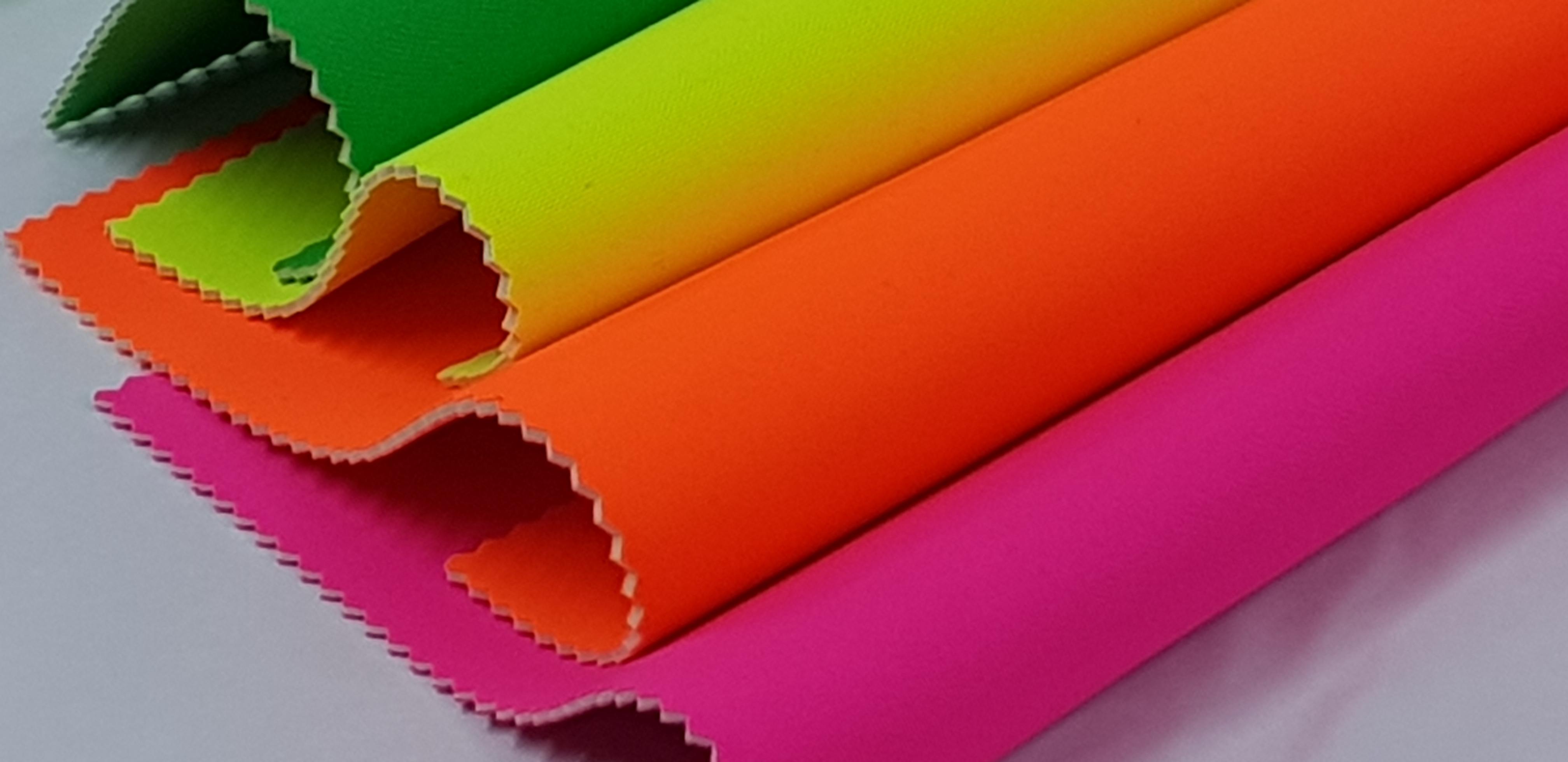 Fluorescent Vinyl Neon Leatherette