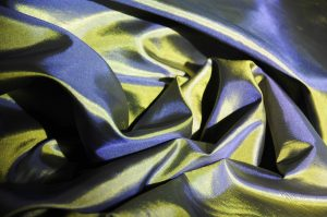 blue green polysilk habotai