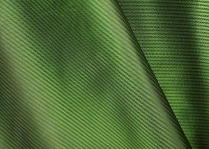green fine stripe Italian jacquard lining fabric