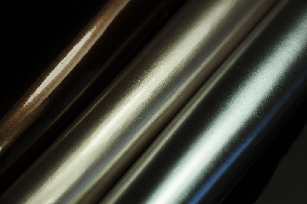 soft metallic gloss leatherette fabric
