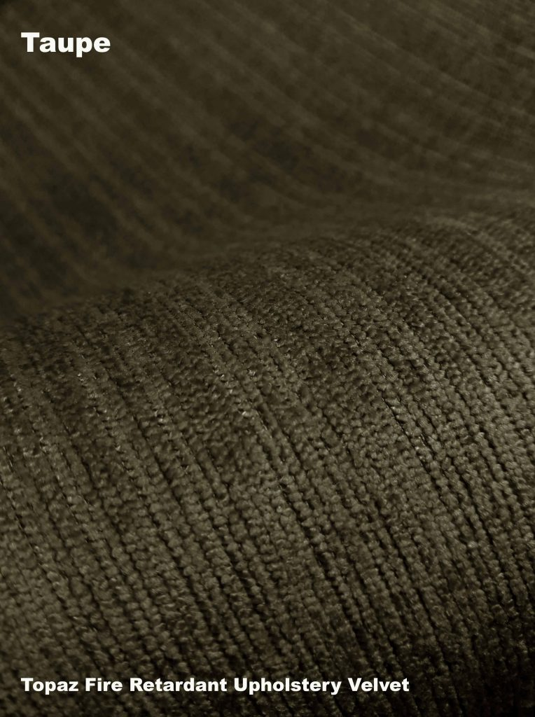 Taupe Topaz upholstery fire retardant fabric