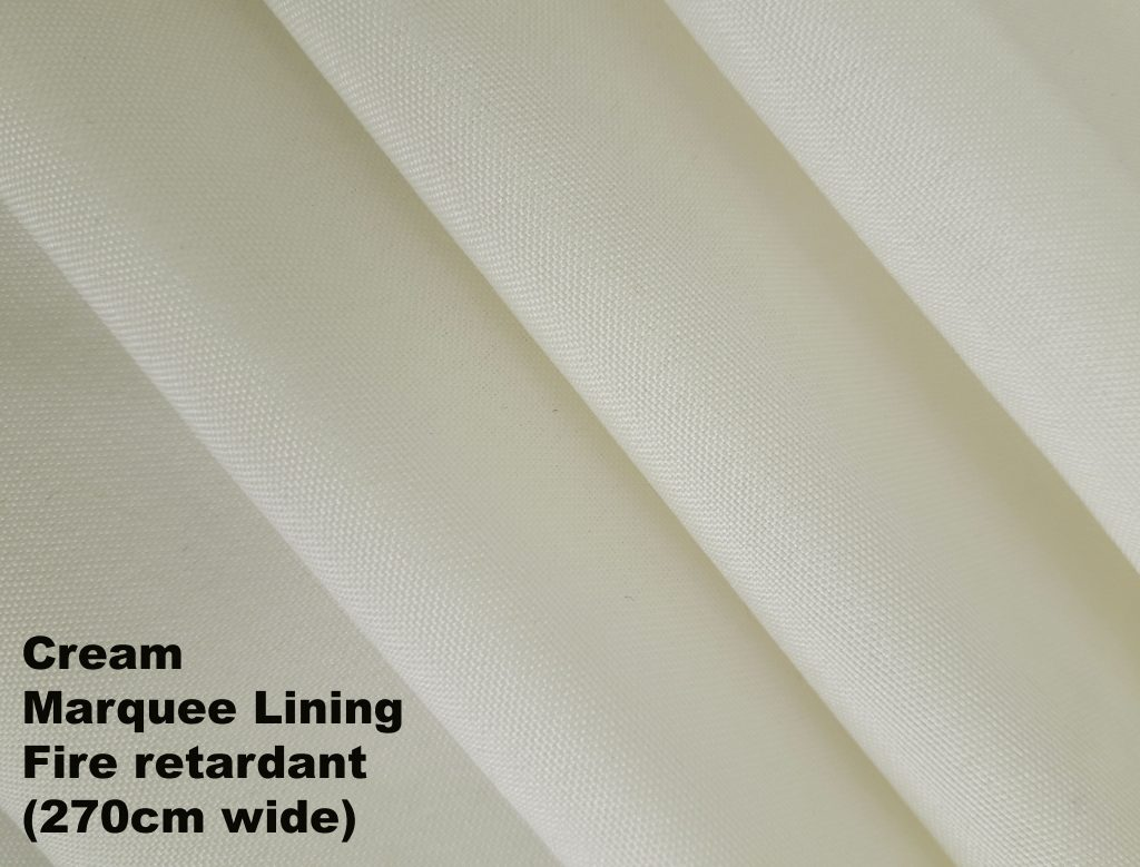 Marquee Fabric Lining Fire Retardant Displays Draping Backdrops loads more 150cm