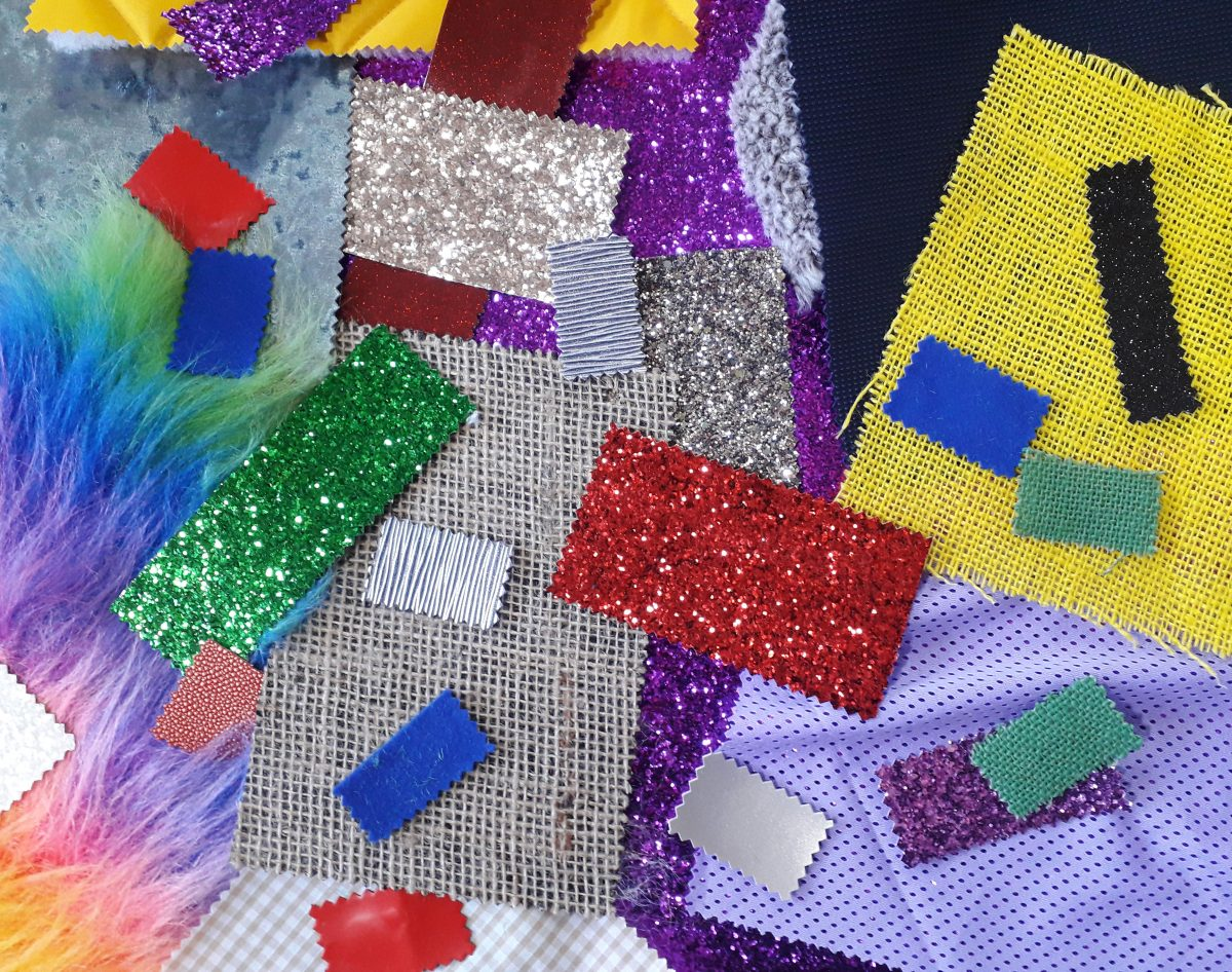 Tactile Fabric For Loose Parts Play.