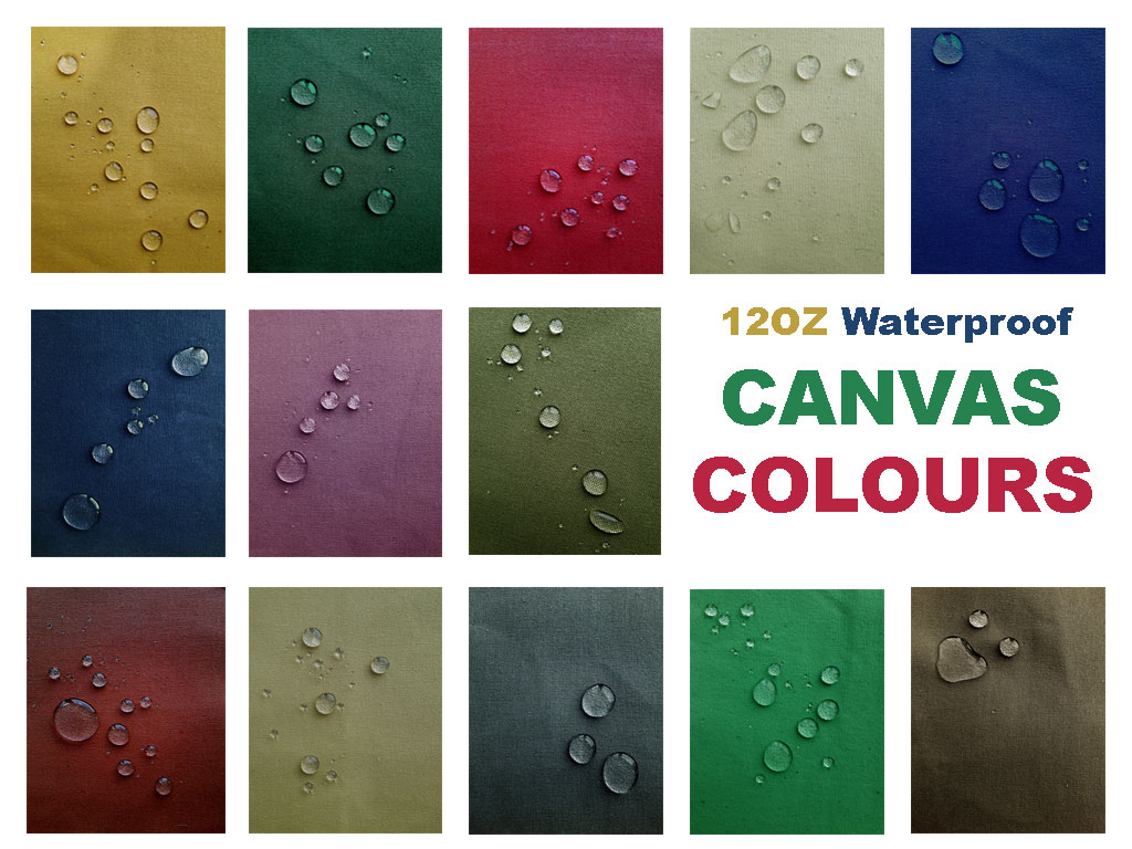 Canvas : 12 oz Waterproof Collection