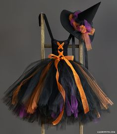 Tu Tu Tutorials For Pretty Witches Costume