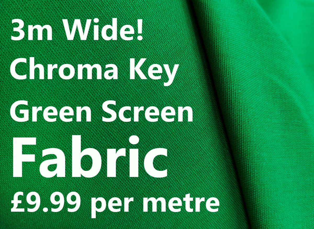 Create a Scene With Green Screen Fabric