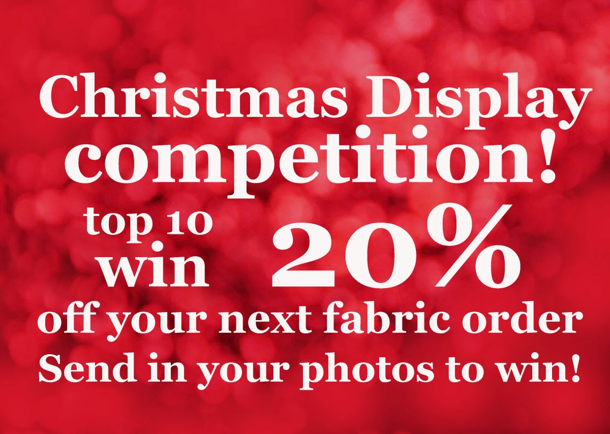 Christmas Display Fabric Competition!