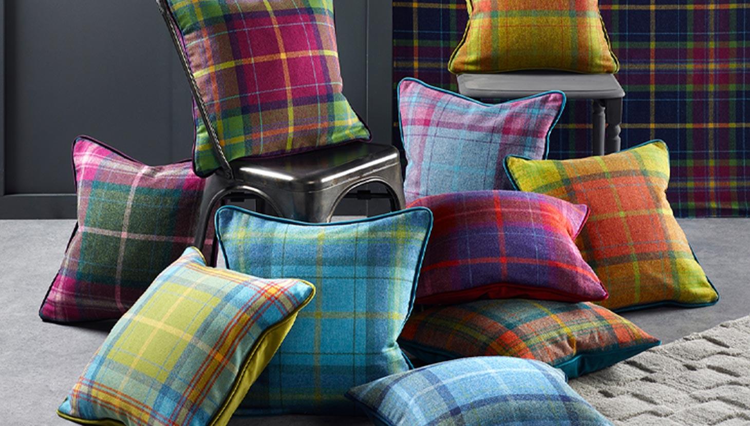 100% Shetland Wool Upholstery