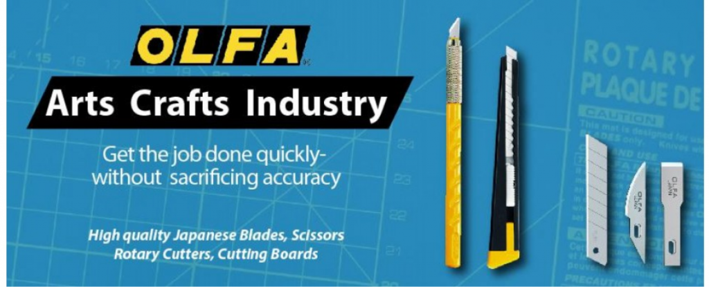 Olfa Cutters - Replacement Blades - Arts & Craft Cutters - industrial Tools - Self Healing Mats